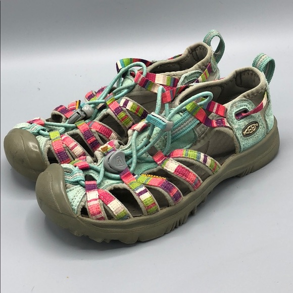 b721cfeb77d6 Keen Other - Keen Girls Whisper Sandal Size 1 multicolored CUTE